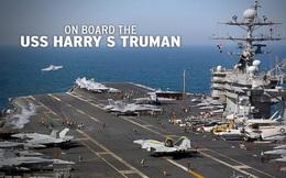 Video: Tàu sân bay Mỹ Harry Truman hoạt động giữa mùa dịch Covid-19