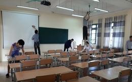 Hà Nội: Các trường khẩn trương vệ sinh, khử khuẩn sẵn sàng đón học sinh trở lại