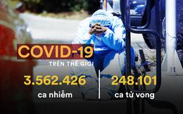 Nga hai ngày liên tiếp có hơn 10.000 ca Covid-19; Rộ tin tình báo 5 nước xác định TQ hủy chứng cứ về dịch