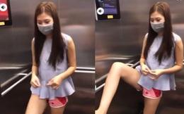 """Chúng Huyền Thanh dùng chân bấm thang máy, chồng lên tiếng: """"Không mất vệ sinh như các bạn nghĩ"""""""