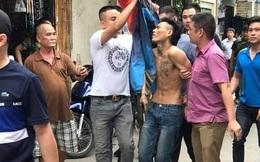 12 giờ giải cứu người phụ nữ bị nam thanh niên nghi ngáo đá khống chế ở Hà Nội