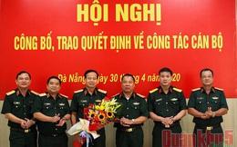 Bổ nhiệm Đại tá Hứa Văn Tưởng làm Phó Tư lệnh Quân khu 5