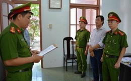 Bắt 1 trưởng phòng, 1 phó phòng thuộc Chi cục Thuỷ sản Quảng Nam