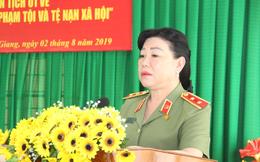 """Chân dung """"Cô Sáu Đẹp"""" - nữ Trung tướng đầu tiên trong ngành công an"""