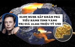 Phát hiện tiểu hành tinh vàng trị giá gần 10.000 triệu tỷ USD có thể biến tất cả mọi người thành tỷ phú, NASA thuê Elon Musk thám hiểm vào năm sau