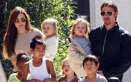 Angelina Jolie và Brad Pitt bất ngờ thân mật trở lại