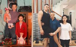 """Bức ảnh 3 bố con trước và sau 26 năm gây """"sốt"""": Danh tính cậu con trai khiến dân mạng tò mò, thích thú"""