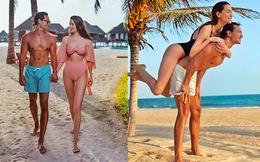 Hồ Ngọc Hà tung ảnh bikini nóng bỏng, tình tứ bên Kim Lý