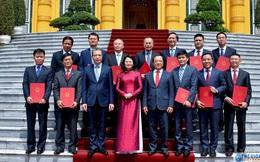 Chân dung 12 Đại sứ mới được Chủ tịch nước bổ nhiệm