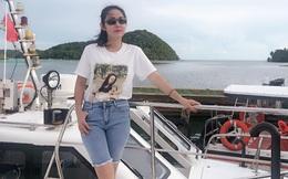 Vẻ giản dị, đời thường của ca sĩ Amy Lê Anh
