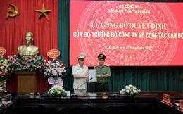 Thái Bình bổ nhiệm Phó Giám đốc Công an tỉnh