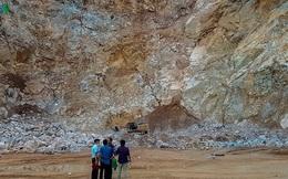Vụ sập mỏ đá Điện Biên: Tìm kiếm nạn nhân còn lại dưới hàng trăm m3 đá