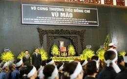 Chủ tịch QH Nguyễn Thị Kim Ngân, Thủ tướng Nguyễn Xuân Phúc tiễn biệt ông Vũ Mão