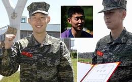Son Heung Min tiết lộ về cuộc sống trong doanh trại khi đi nghĩa vụ quân sự