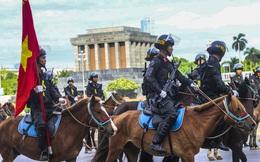 [Ảnh] Ấn tượng hình ảnh lực lượng Cảnh sát cơ động Kỵ binh trong lễ ra mắt