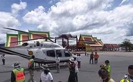Tướng Thái Lan gặp vạ lớn vì đáp trực thăng tùy tiện