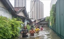 Nước dâng cao tới 4m do lũ lụt, ít nhất 4 người Indonesia thiệt mạng