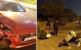 Tài xế nghi say rượu lái ôtô tông chết nữ giáo viên trường chuyên