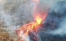 Lốc xoáy lửa xuất hiện ở miền Nam Australia, càn quét mọi thứ