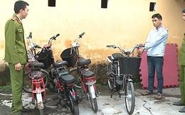 Cặp đôi 9X gây ra hàng loạt vụ trộm xe đạp điện