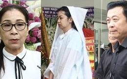 Đám tang nghệ sĩ Nguyễn Chánh Tín: NS Kim Xuân, Vân Sơn và nhiều đồng nghiệp bàng hoàng, con gái thất thần trước linh cữu cha