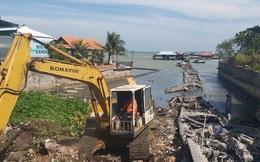 4 người bị tạm giữ vì kích động việc phá dỡ cầu cảng ở Phú Quốc