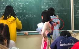 Tưởng cô giáo nghiêm khắc thế nào, nhìn tới cây thước đang cầm trên tay ai nấy hú hét vì quá đáng yêu