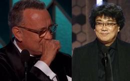 """Quả cầu vàng 2020: Tom Hanks bật khóc vì nhận được giải lớn, Ký Sinh Trùng """"phá đảo"""" hạng mục phim nước ngoài"""