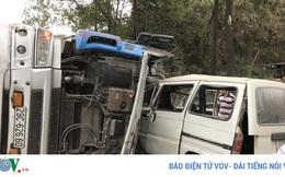 Lái xe đầu kéo có nồng độ cồn gây tai nạn nghiêm trọng tại Lạng Sơn