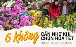 6 KHÔNG khi mua hoa Tết, bà nội trợ Việt phải chú ý để chọn được hoa vừa rẻ đẹp lại lâu tàn