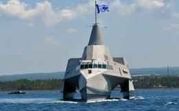 Indonesia điều tàu chiến đuổi đội tàu cá Trung Quốc