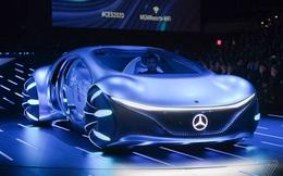 [CES 2020] Mercedes ra mắt concept xe của tương lai, lấy cảm hứng từ bộ phim Avatar