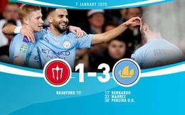 Man Utd 1-3 Man City: 45 phút ác mộng