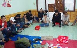 17 con bạc tổ chức xóc đĩa bị bắt ở Hà Giang
