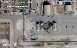 Ảnh vệ tinh hé lộ thiệt hại trong căn cứ Mỹ bị Iran giội tên lửa
