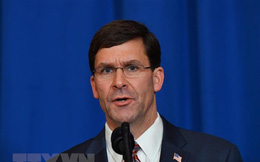 Bộ trưởng Quốc phòng Mỹ đề cập biện pháp răn đe Iran