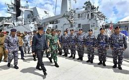 Indonesia quyết liệt, nhóm tàu Trung Quốc chấp nhận rút