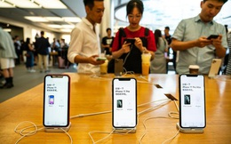 Apple lên đỉnh nhờ iPhone không còn bị tẩy chay tại Trung Quốc