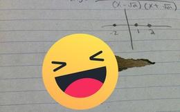 """Học sinh không may làm rách bài kiểm tra, thầy giáo nhanh tay """"vá"""" giúp khiến cả lớp ngồi thở vì cười quá mệt"""