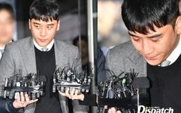 Seungri trình diện trước lệnh bắt giữ vì 7 cáo buộc hình sự, nụ cười bí hiểm khi bước ra khỏi tòa gây chú ý