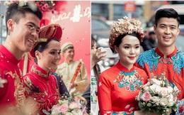 Khoảnh khắc đẹp trong đám hỏi Quỳnh Anh - Duy Mạnh: Chú rể toe toét cười từ đầu đến cuối, hẳn là vì rước được 'công chúa béo' về dinh
