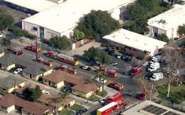 Máy bay xả nhiên liệu từ trên cao xuống sân trường, 60 học sinh bị thương