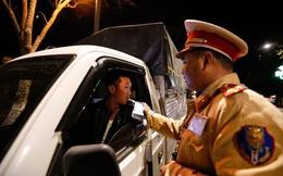 Hơn 1300 lái xe vi phạm nồng độ cồn ở mức cao nhất
