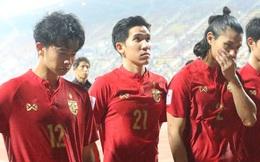 """Cầu thủ U23 Thái Lan khóc nức nở, gọi quyết định thổi penalty của trọng tài là """"một tai nạn"""""""