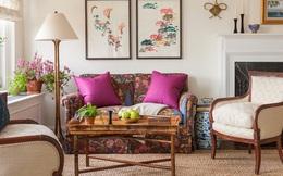 Cùng ngắm các mẫu phòng khách chỉ dành cho những ai yêu thích màu nổi