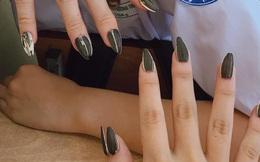 Trong khi chị em vật vã tìm chỗ làm nail thì hội học trò sáng tạo ra kiểu móng vừa chất vừa độc thế này đây!