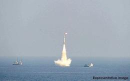 Ấn Độ phóng tên lửa đạn đạo K-4 cực mạnh từ tàu ngầm