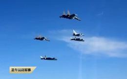 Trung Quốc 'lộ' đội hình tác chiến của tiêm kích tàng hình J-20