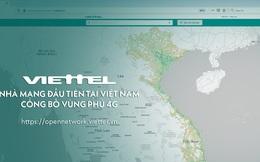Viettel công bố bản đồ phủ sóng 4G, giờ thì người Việt đã kiểm tra được chất lượng mạng 4G mình đang sử dụng