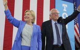 Bà Clinton làm rối nội bộ đường đua ứng viên tổng thống đảng Dân chủ